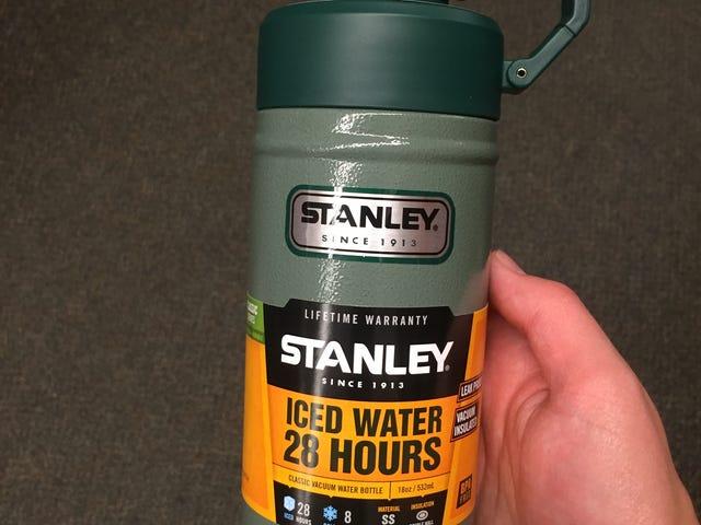 I got tired of my plastic water bottle