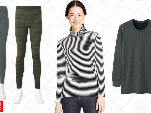 Stay Extra Warm With Uniqlo's One-Day Sale on HEATTECH