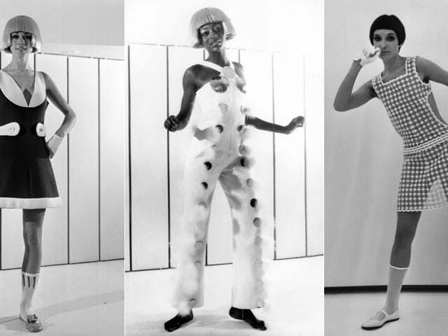 André Courrèges Defined the Shape of Space Age Fashion