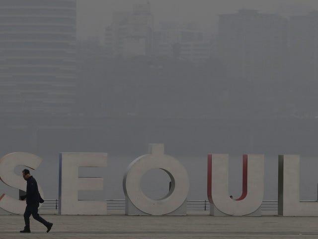 South Korea Wants to Use Artificial Rain to Wash Away Its Smog