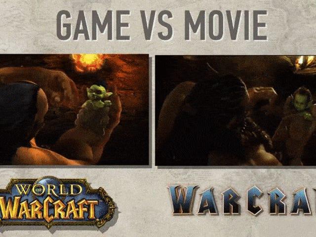 """有人在<i>World Of Warcraft</i>重新创建了"""" <i>Warcraft</i>电影预告片<i>World Of Warcraft</i>"""