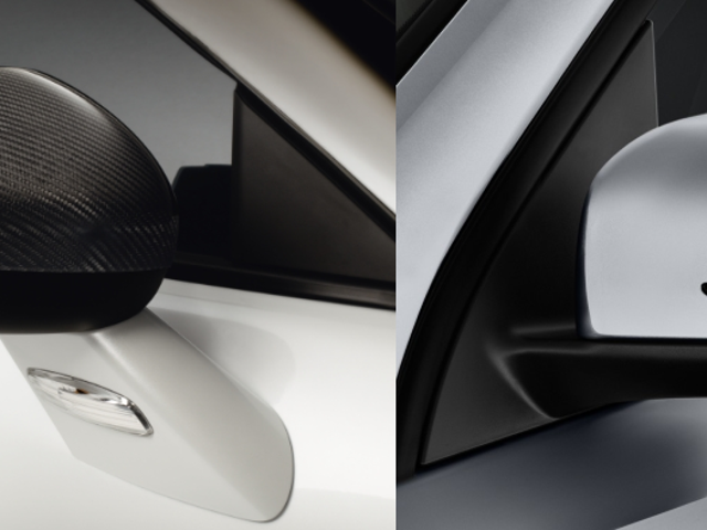 An eulogy to two of the most distinctive wing mirror designs