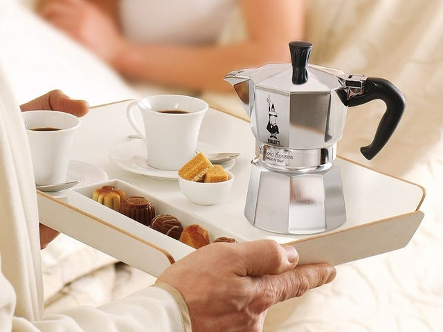 Perk Up With This Bialetti Moka Stovetop Espresso Makers