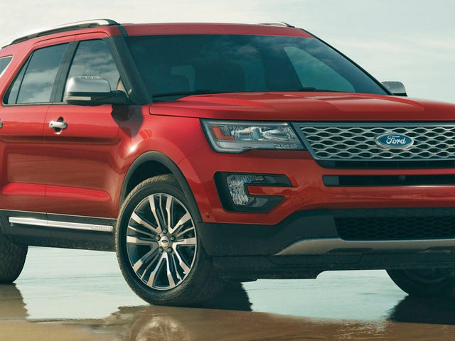2016 Ford Explorer: This Is It