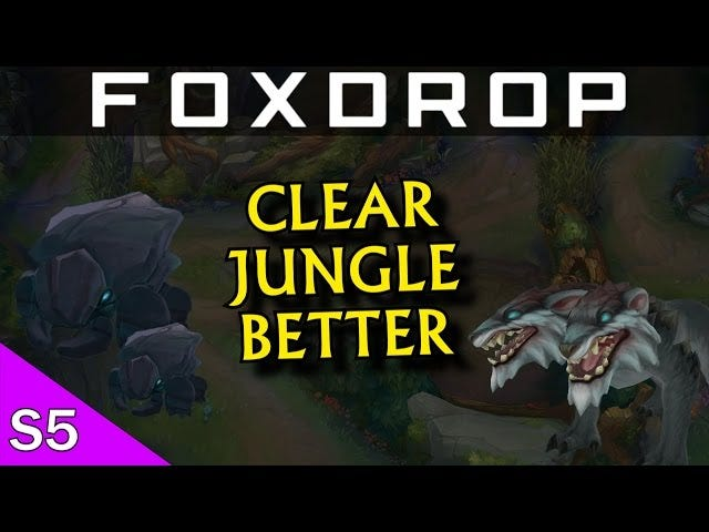 How To Quickly Clear The Jungle In <i>League Of Legends</i>