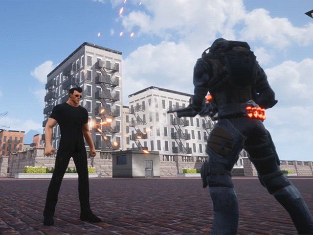 New Free Steam Demo Is A Modern-Day Superman Game