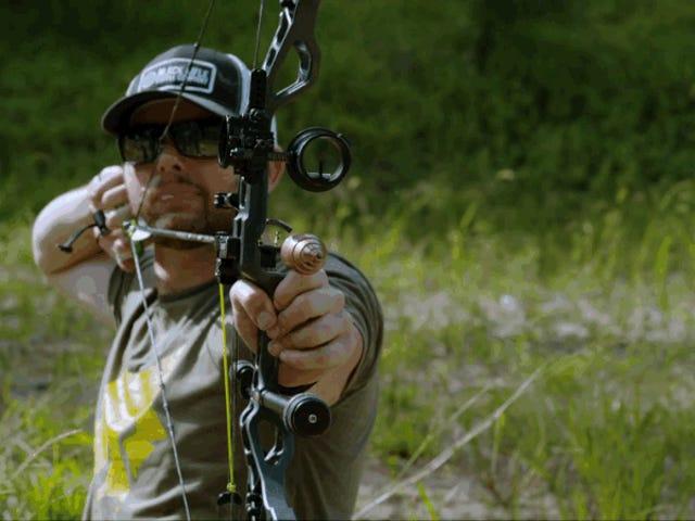 如果您像Rambo那样用爆炸箭头射出弧线,就会发生这种情况