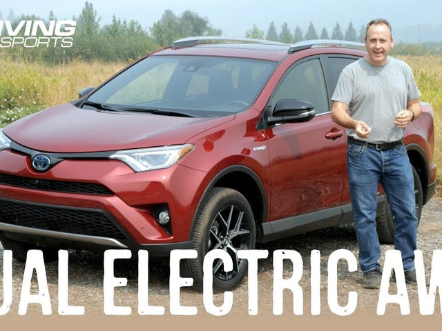 Dual-Motor AWD in the RAV4 Hybrid Reviewed