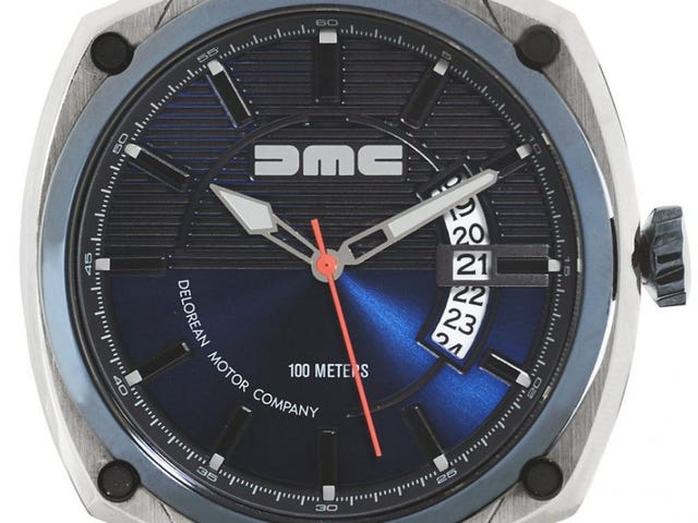 So, DeLorean is making watches now.