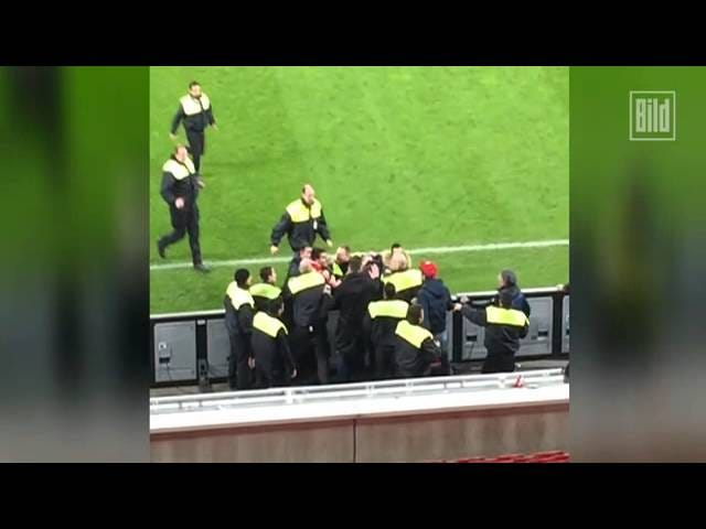 Bayer Leverkusen Player And His Buddies Brawl With Own Club's Security