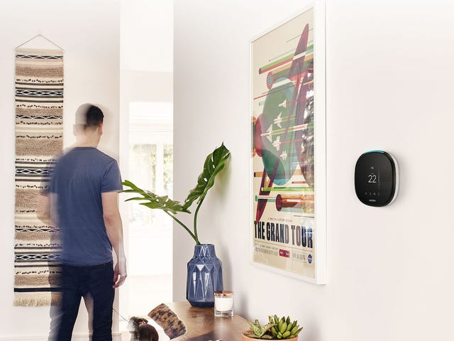 The Ecobee4 Smart Thermostat Has Alexa Voice Service Built Right In