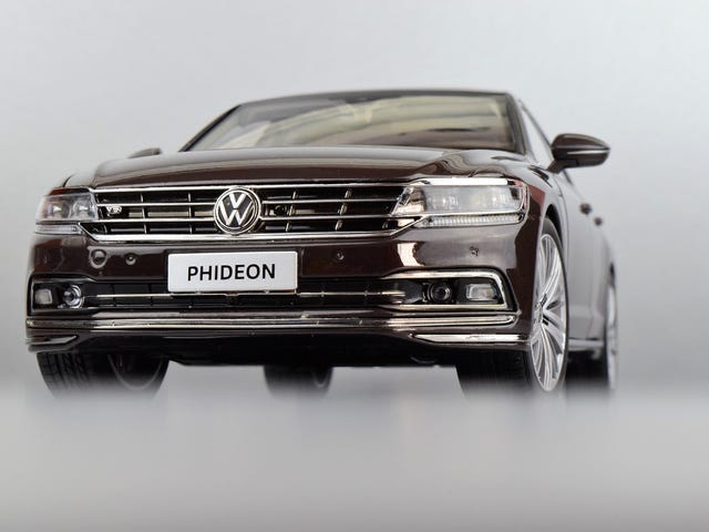 Teutonic Tuesday By Way of Shanghai: VW Phideon