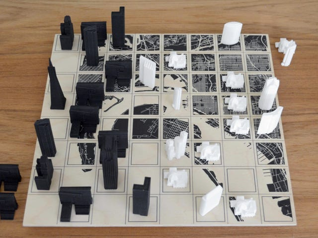 Custom Chess Sets Let You Play With Your Favorite City's Famous Landmarks