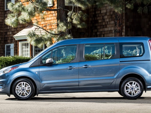 The 2019 Ford Transit Connect Wagon Is A Van Diesel For Your Awesome Parents