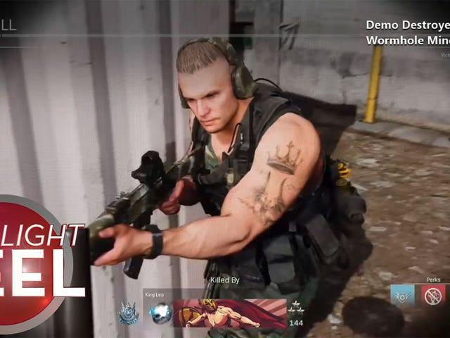 Modern Warfare Player's Death Defies Physics