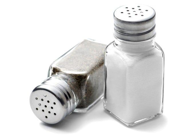 The pepper shaker on your restaurant table is really gross