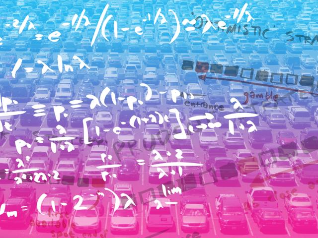 Matematiikkaa lopulta käytettiin määrittämään paras paikka pysäköidä auto