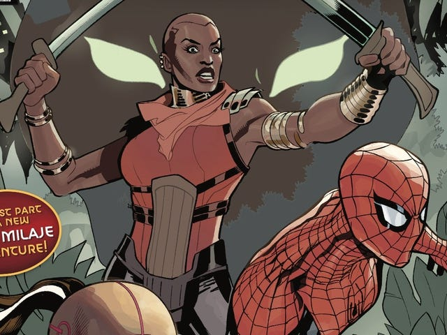 The Dora Milaje head to New York City in this Wakanda Forever exclusive