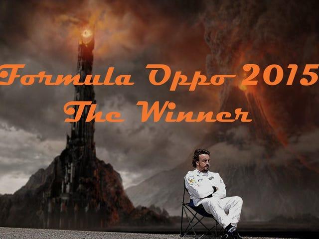 Formula Oppo 2015: The Winner