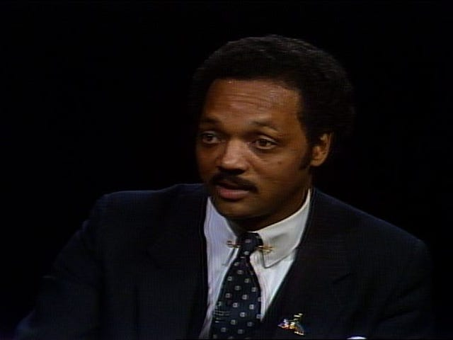 Jesse Jackson to Black Journalists in 1984:'You Work in Pain'