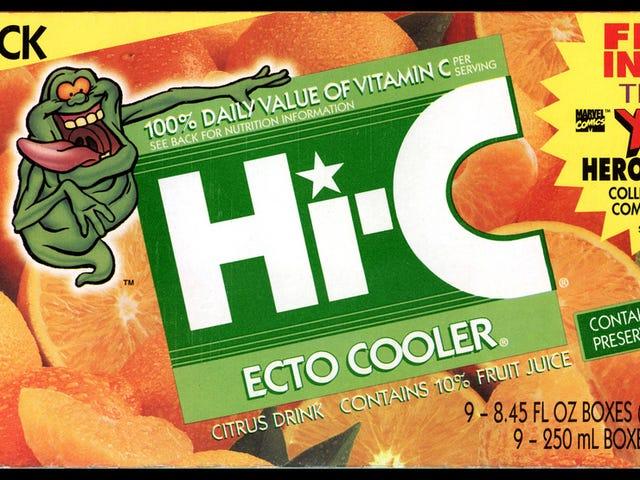 ΚΡΑΤΗΣΤΕ ΟΛΑ.  Είναι Ecto-Cooler Επιστροφή ;!