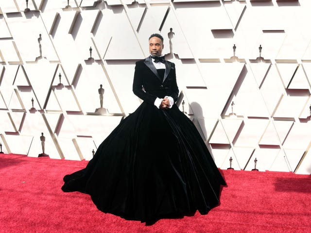 A List of Things Personally Threatened By Billy Porter's Red Carpet Gown
