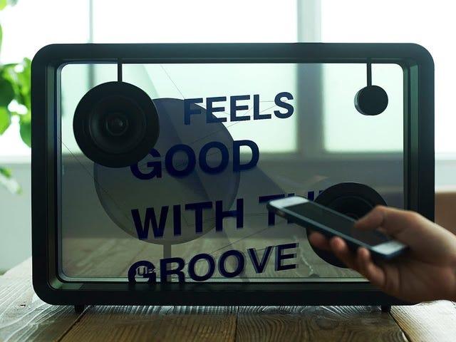 El altavoz lírico Cotodama de $ 4,500 es Karaoke y cumple con un diseño de alta