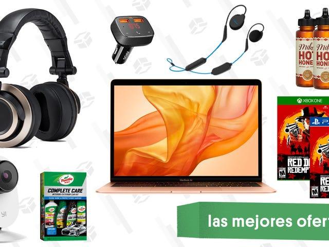 Las mejores ofertas de este miércoles: Miel picante, MacBook Air, cámara de seguridad Yi y más