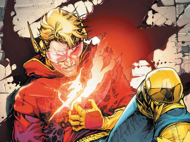 The Flash performs heart surgery on himself in this exclusive preview