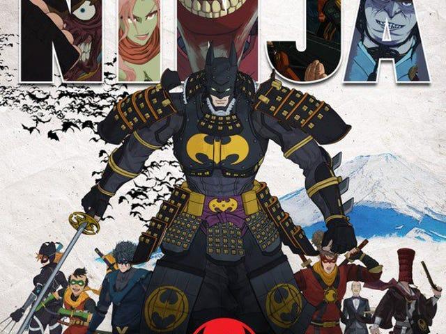 Disfruta el último avance de la película de anime Batman Ninja
