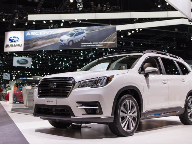I Found All 19 Of The New Subaru Ascent's Cupholders