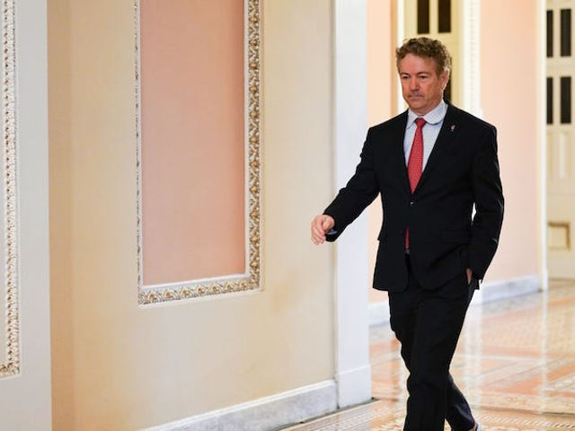 Thượng nghị sĩ Rand Paul là trường hợp coronavirus đầu tiên được xác nhận của Thượng viện