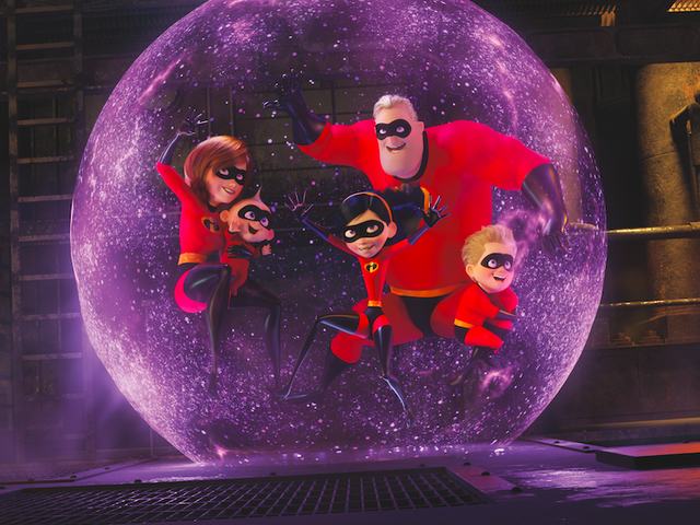 Brad Bird triumphantly returns to animation, Pixar, and awe-inspiring spectacle with <i>Incredibles 2</i>