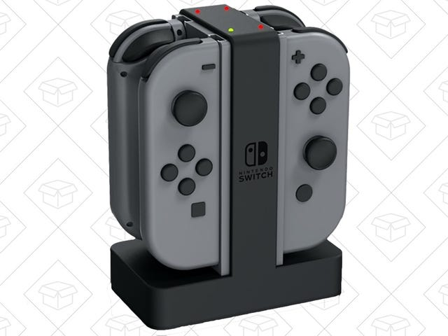 Juice Up Your Joy-Con With This Discounted Stand