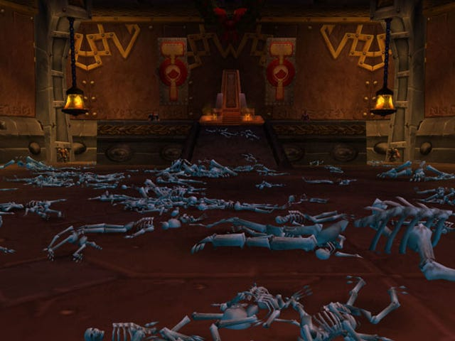 Sorry, You Can't Spell Out Messages With Skeletons In WoW Classic