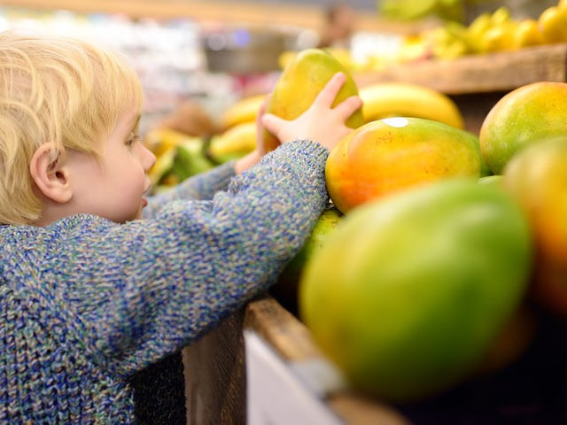 """¿Podría la televisión de alimentos convertir a tu hijo en un come saludable?  La ciencia dice """"claro, por qué no"""""""