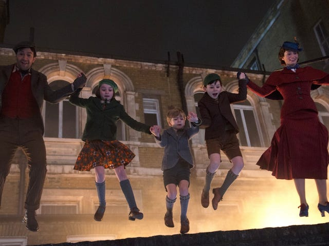 The First Teaser for Mary Poppins Returns Is Here