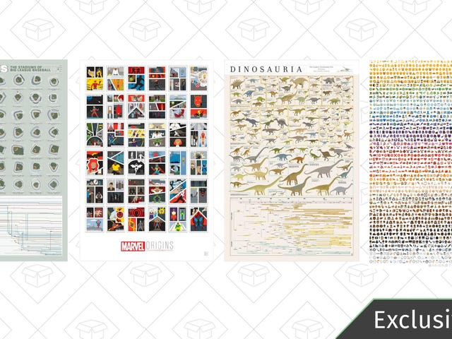 All Of Pop Chart Lab's Gloriously Nerdy Data Art Is 30% Off [Exclusive]