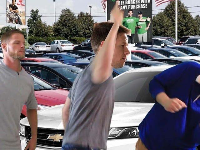 Mahk gets a job at Mark Wahlberg Chevy