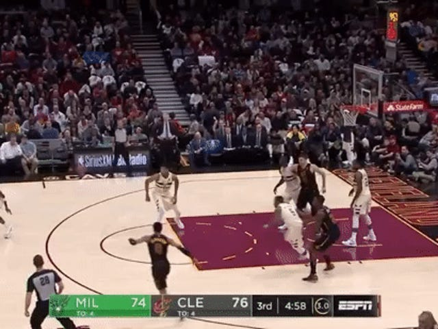 Let's Enjoy Some Quality LeBron Highlights