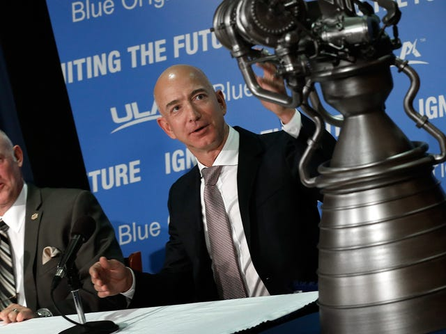 Jeff Bezos Expected to Charge at Least $200,000 for Space Rides in His Rich People Escape Pods