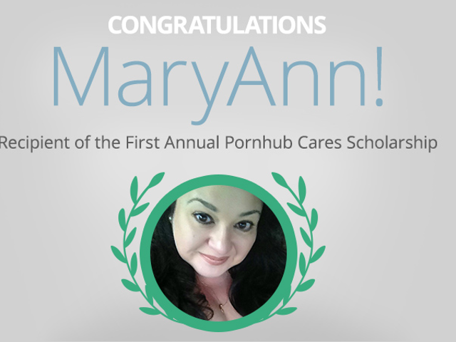 Winner of Pornhub's College Scholarship is a 48-Year-Old Texan Mom