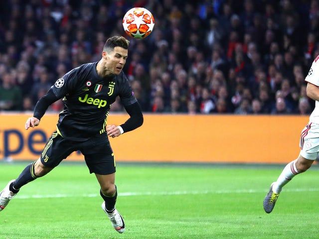 Cristiano Ronaldo on kuin kellotyö