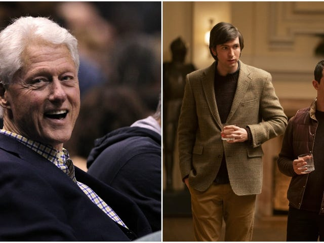 Bill Clinton apparently pitched Succession storylines to the show's Nicholas Braun