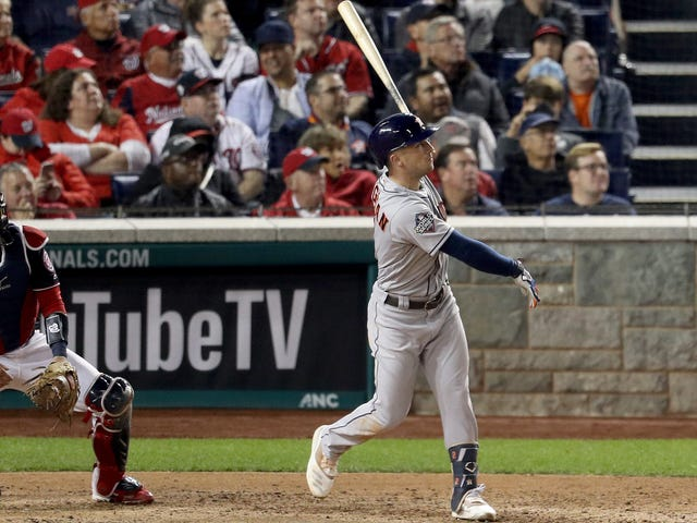 Alex Bregman Let Out All His Frustration With One Booming Swing