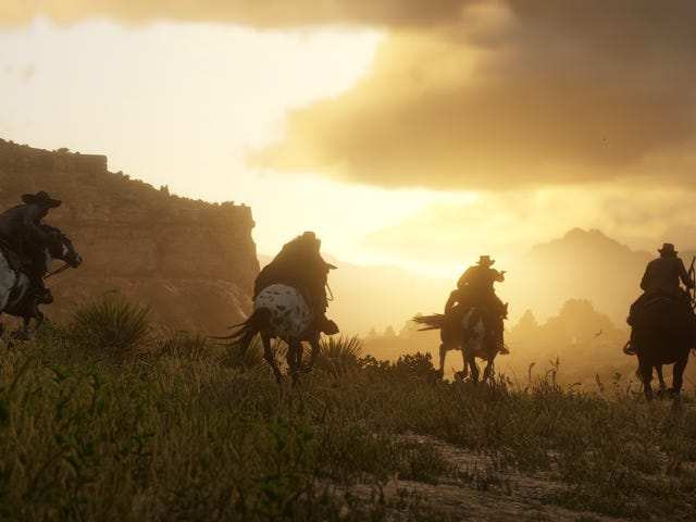 Red Dead Online Goes Live This Week