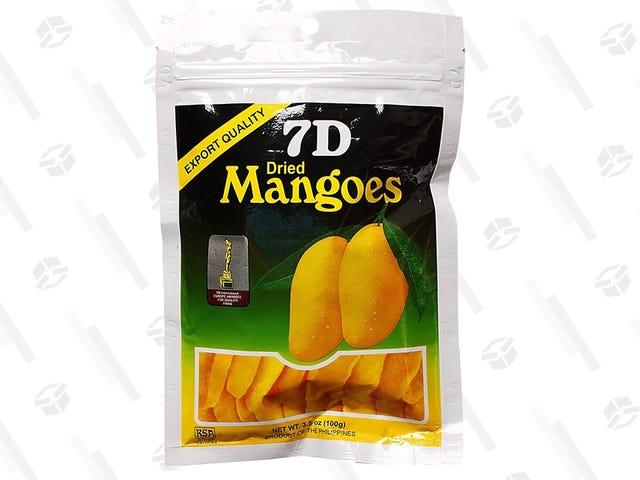 Disse tørrede mangoene er som min bærbare bit av Hawaii