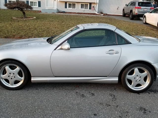 At $8,200, Could This 2001 Mercedes SLK320 be a Hardtop Convertible That's Hard to Beat?