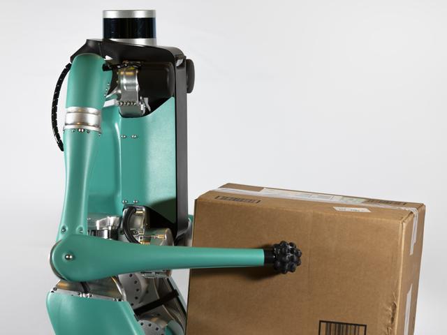 Robot Puckheaded này sẽ không được giao các gói của bạn bất cứ lúc nào sớm