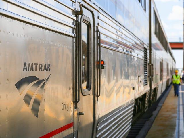A partir deste outono, a Amtrak tornará possível viver sua melhor e mais negra vida na costa leste de Bougie Black